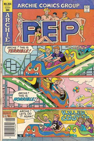 Pep Comics #364 Comic Books - Covers, Scans, Photos  in Pep Comics Comic Books - Covers, Scans, Gallery