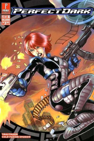 Perfect Dark #1 comic books - cover scans photos Perfect Dark #1 comic books - covers, picture gallery