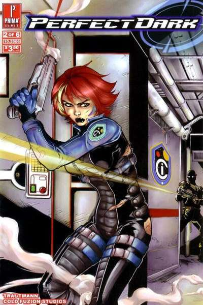 Perfect Dark #2 comic books - cover scans photos Perfect Dark #2 comic books - covers, picture gallery