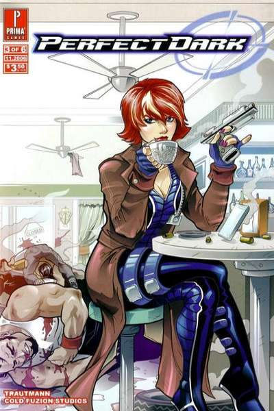 Perfect Dark #3 comic books - cover scans photos Perfect Dark #3 comic books - covers, picture gallery