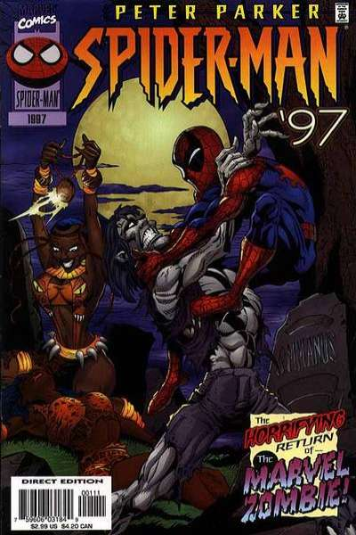 Peter Parker: Spider-Man #1997 comic books for sale