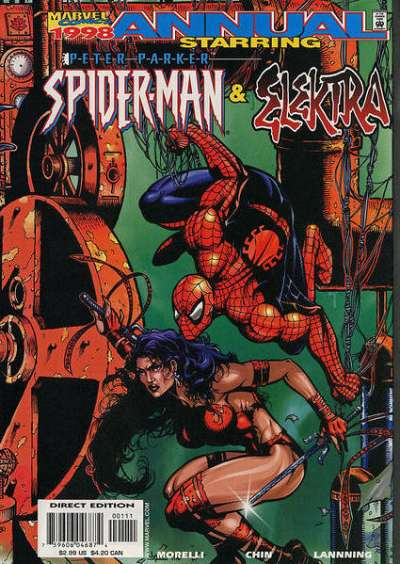 Peter Parker: Spider-Man #1998 comic books for sale
