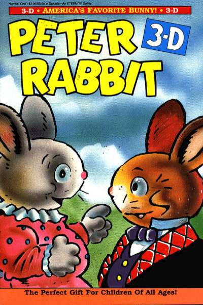 Peter Rabbit 3-D comic books