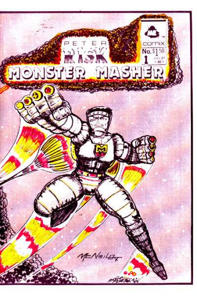 Peter Risk Monster Masher comic books