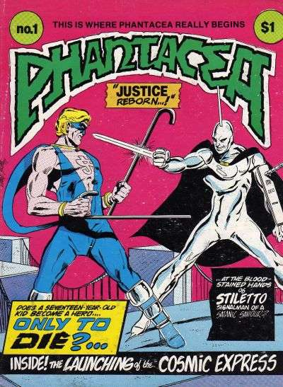 Phantacea comic books