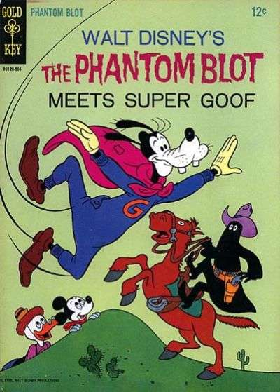 Phantom Blot #2 Comic Books - Covers, Scans, Photos  in Phantom Blot Comic Books - Covers, Scans, Gallery