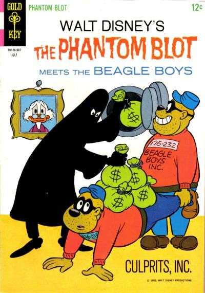Phantom Blot #3 Comic Books - Covers, Scans, Photos  in Phantom Blot Comic Books - Covers, Scans, Gallery