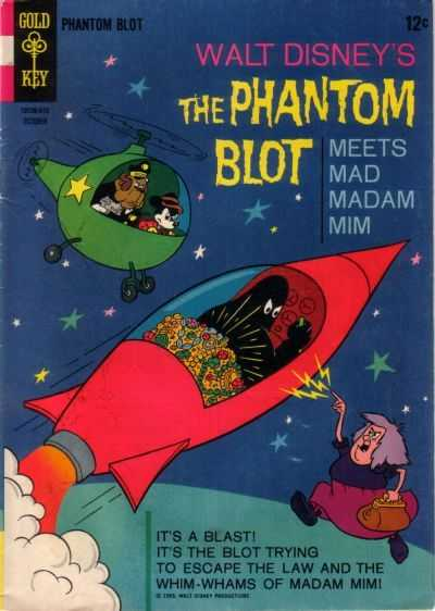 Phantom Blot #4 comic books - cover scans photos Phantom Blot #4 comic books - covers, picture gallery