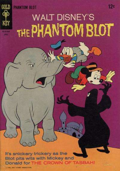Phantom Blot #5 Comic Books - Covers, Scans, Photos  in Phantom Blot Comic Books - Covers, Scans, Gallery