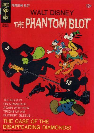 Phantom Blot #7 comic books - cover scans photos Phantom Blot #7 comic books - covers, picture gallery