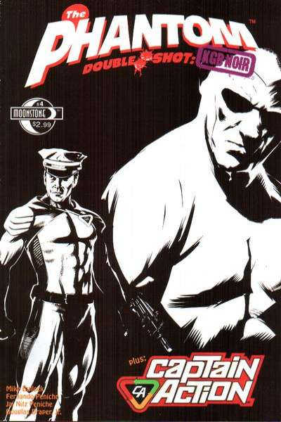 Phantom Double Shot: KGB Noir #4 Comic Books - Covers, Scans, Photos  in Phantom Double Shot: KGB Noir Comic Books - Covers, Scans, Gallery