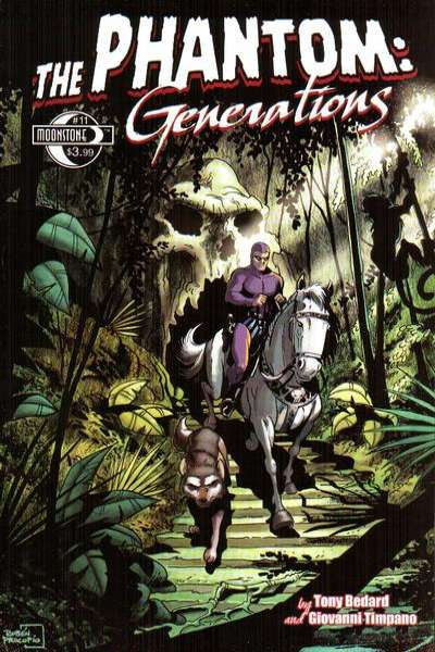 Phantom: Generations #11 comic books - cover scans photos Phantom: Generations #11 comic books - covers, picture gallery