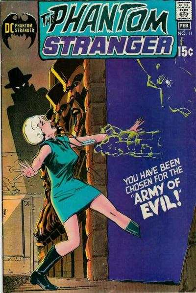 Phantom Stranger #11 Comic Books - Covers, Scans, Photos  in Phantom Stranger Comic Books - Covers, Scans, Gallery