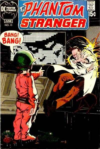 Phantom Stranger #13 Comic Books - Covers, Scans, Photos  in Phantom Stranger Comic Books - Covers, Scans, Gallery