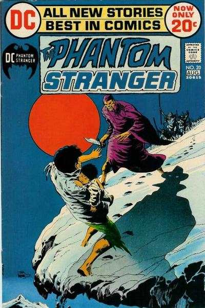 Phantom Stranger #20 Comic Books - Covers, Scans, Photos  in Phantom Stranger Comic Books - Covers, Scans, Gallery
