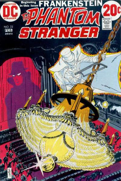 Phantom Stranger #23 Comic Books - Covers, Scans, Photos  in Phantom Stranger Comic Books - Covers, Scans, Gallery