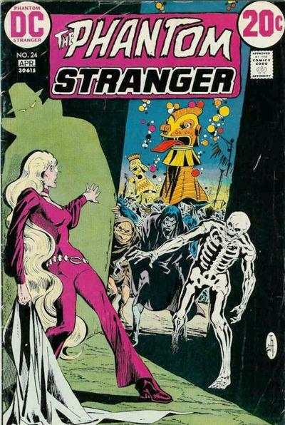 Phantom Stranger #24 Comic Books - Covers, Scans, Photos  in Phantom Stranger Comic Books - Covers, Scans, Gallery