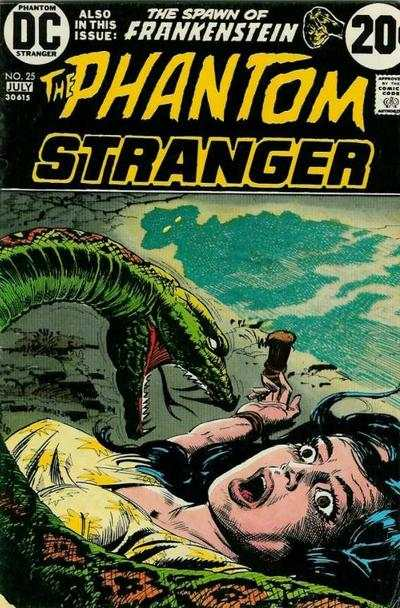 Phantom Stranger #25 Comic Books - Covers, Scans, Photos  in Phantom Stranger Comic Books - Covers, Scans, Gallery