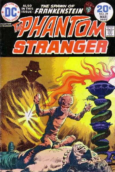 Phantom Stranger #29 comic books for sale
