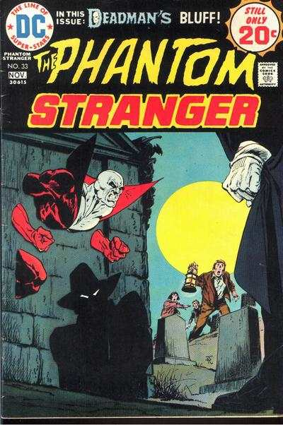Phantom Stranger #33 comic books for sale