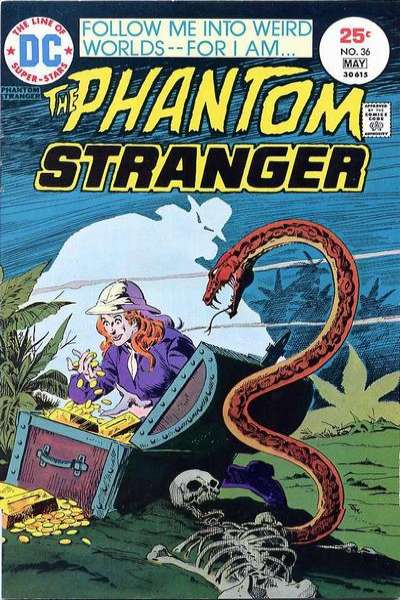 Phantom Stranger #36 comic books for sale
