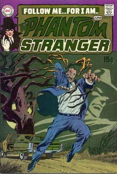 Phantom Stranger #7 Comic Books - Covers, Scans, Photos  in Phantom Stranger Comic Books - Covers, Scans, Gallery