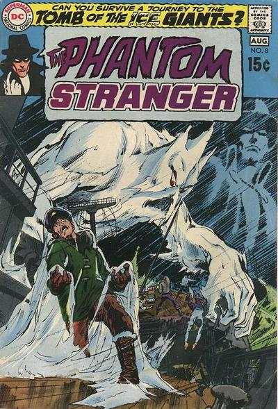 Phantom Stranger #8 Comic Books - Covers, Scans, Photos  in Phantom Stranger Comic Books - Covers, Scans, Gallery
