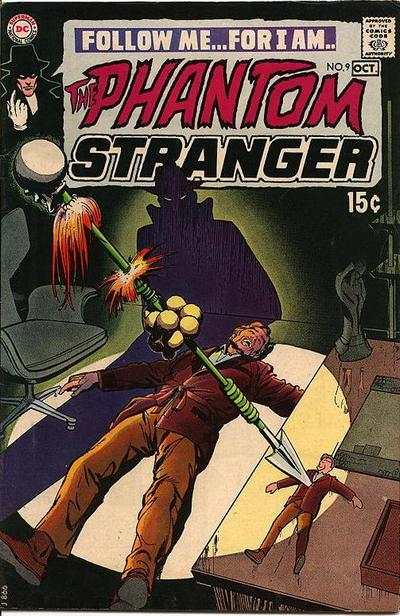 Phantom Stranger #9 Comic Books - Covers, Scans, Photos  in Phantom Stranger Comic Books - Covers, Scans, Gallery