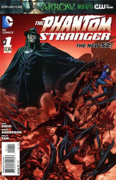 Phantom Stranger comic books