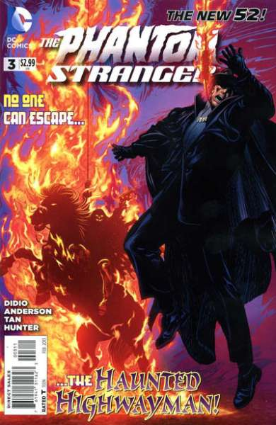 Phantom Stranger #3 comic books - cover scans photos Phantom Stranger #3 comic books - covers, picture gallery