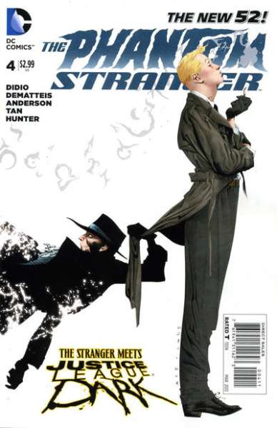 Phantom Stranger #4 comic books - cover scans photos Phantom Stranger #4 comic books - covers, picture gallery