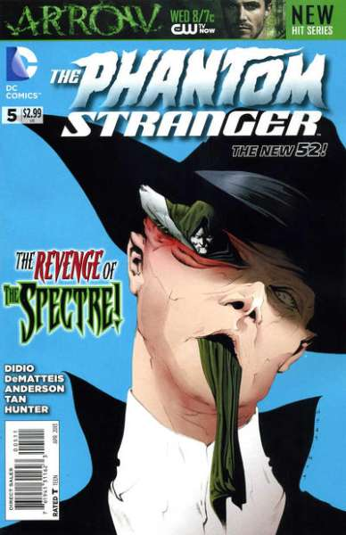 Phantom Stranger #5 comic books - cover scans photos Phantom Stranger #5 comic books - covers, picture gallery