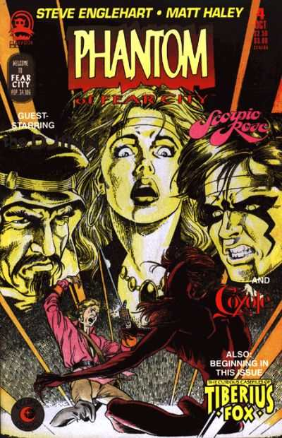Phantom of Fear City #4 Comic Books - Covers, Scans, Photos  in Phantom of Fear City Comic Books - Covers, Scans, Gallery