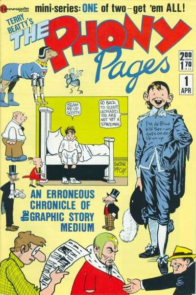 Phony Pages comic books