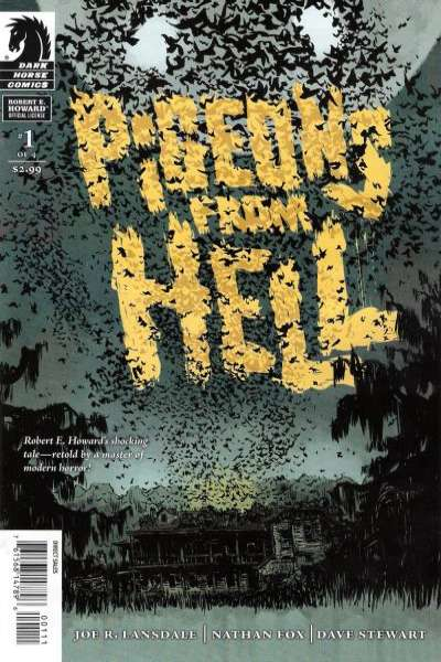Pigeons from Hell comic books