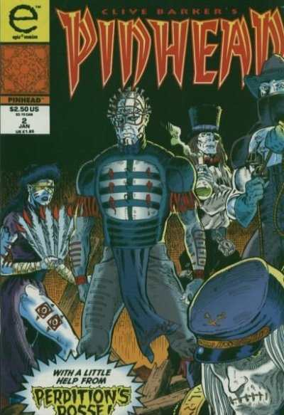 Pinhead #2 comic books - cover scans photos Pinhead #2 comic books - covers, picture gallery