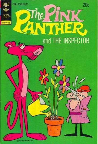 Pink Panther #19 comic books - cover scans photos Pink Panther #19 comic books - covers, picture gallery