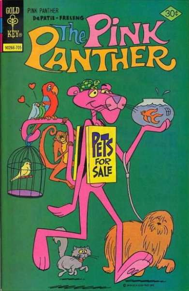 Pink Panther #43 Comic Books - Covers, Scans, Photos  in Pink Panther Comic Books - Covers, Scans, Gallery