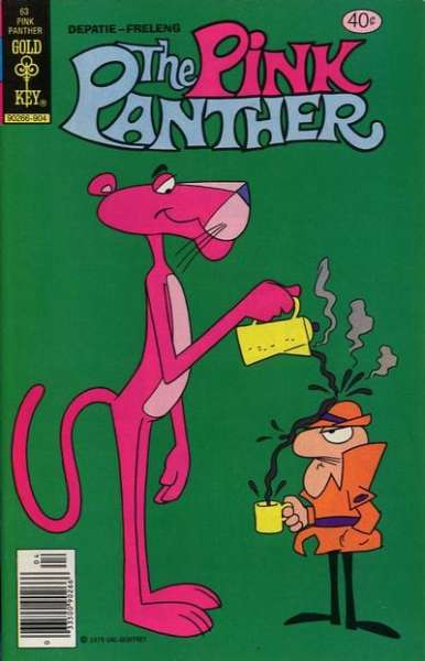 Pink Panther #63 Comic Books - Covers, Scans, Photos  in Pink Panther Comic Books - Covers, Scans, Gallery
