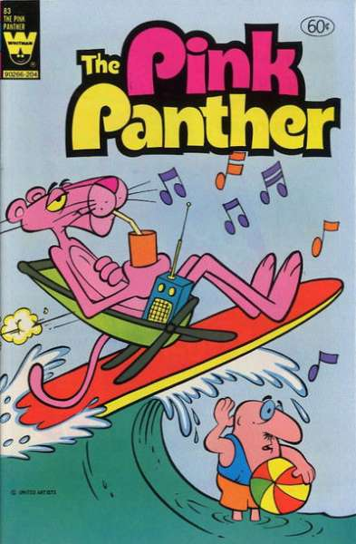 Pink Panther #83 comic books - cover scans photos Pink Panther #83 comic books - covers, picture gallery