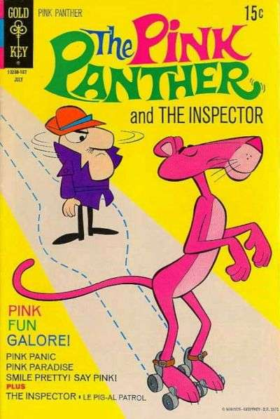 Pink Panther #2 comic books - cover scans photos Pink Panther #2 comic books - covers, picture gallery
