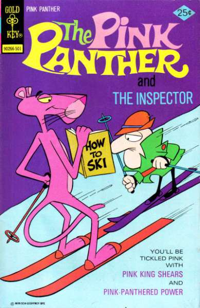 Pink Panther #24 Comic Books - Covers, Scans, Photos  in Pink Panther Comic Books - Covers, Scans, Gallery