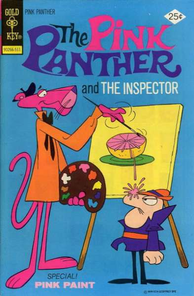 Pink Panther #30 Comic Books - Covers, Scans, Photos  in Pink Panther Comic Books - Covers, Scans, Gallery