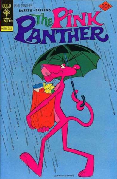 Pink Panther #41 comic books for sale