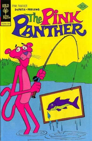 Pink Panther #42 Comic Books - Covers, Scans, Photos  in Pink Panther Comic Books - Covers, Scans, Gallery