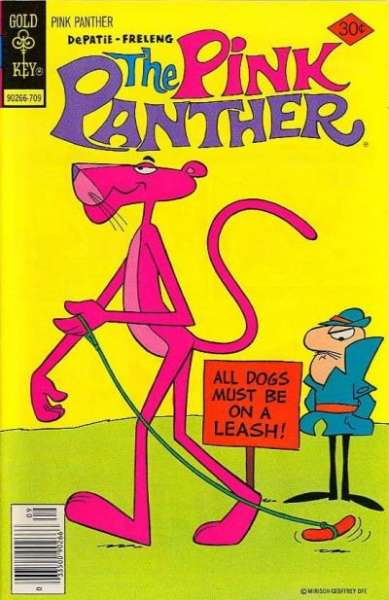 Pink Panther #46 comic books - cover scans photos Pink Panther #46 comic books - covers, picture gallery