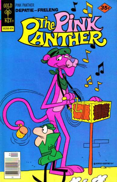 Pink Panther #51 Comic Books - Covers, Scans, Photos  in Pink Panther Comic Books - Covers, Scans, Gallery