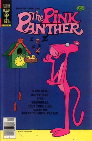 Pink Panther #61 comic books - cover scans photos Pink Panther #61 comic books - covers, picture gallery