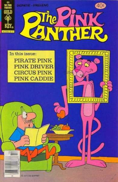 Pink Panther #69 Comic Books - Covers, Scans, Photos  in Pink Panther Comic Books - Covers, Scans, Gallery