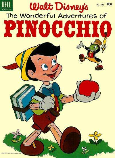 Pinocchio #3 comic books - cover scans photos Pinocchio #3 comic books - covers, picture gallery